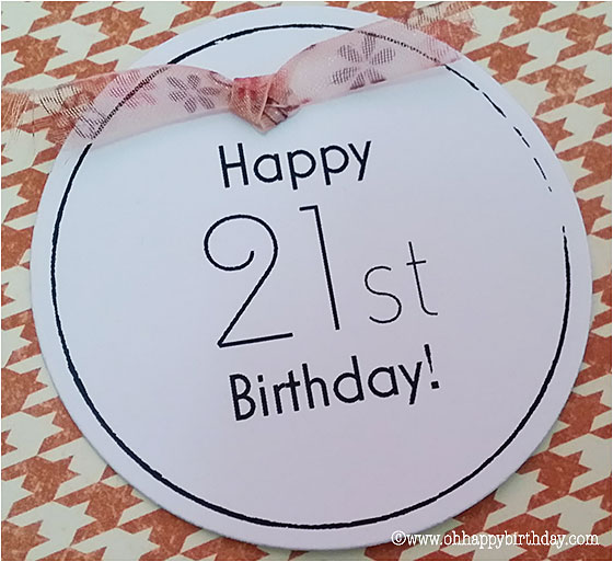 21st birthday cards/Happy 21t Birthday