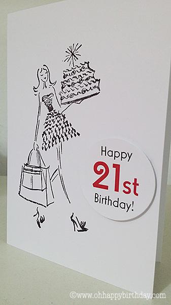 happy 21st birthday card/Happy 21st Birthday!