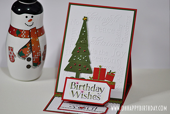christmas birthday cards/Merry Christmas Greetings