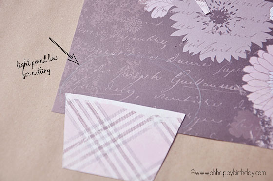 cardmaking step 2