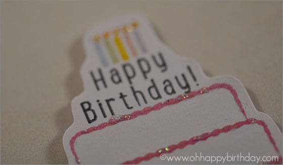3d birthday cake card/3D Birthday Card