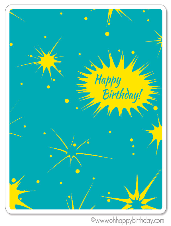 happy birthday card for boy