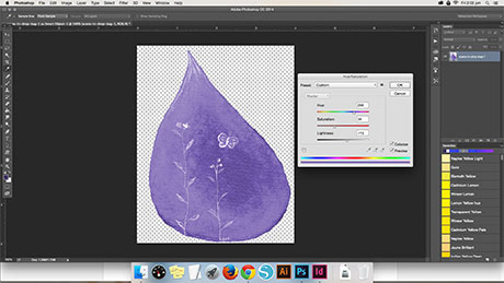 replace color in photoshop