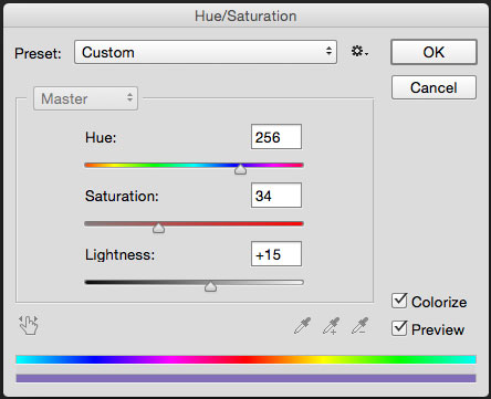 changing colours in photoshop/Hue and Saturation in Photoshop