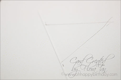 star birthday card/Making Happy Birthday Card