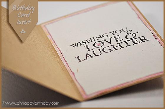 birthday card insert/Inside The Belated Birthday Card