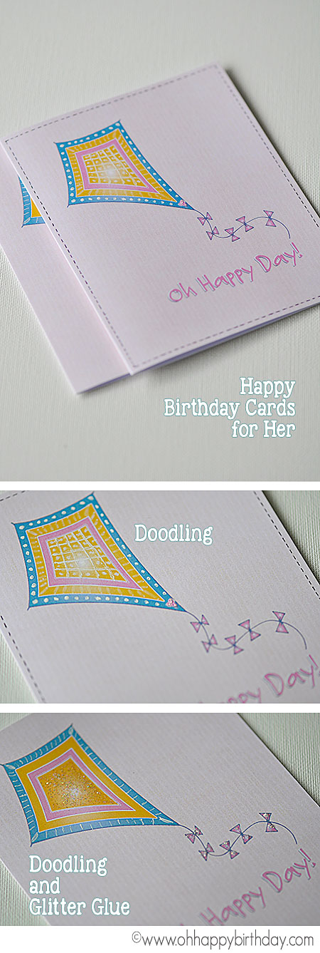 Making birthday cards for daughters can be interesting. Use your creativity to make these cards unique and personal.
