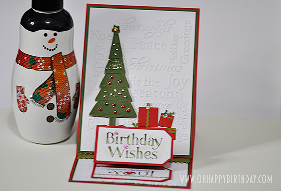 Christmas Birthday Wishes
