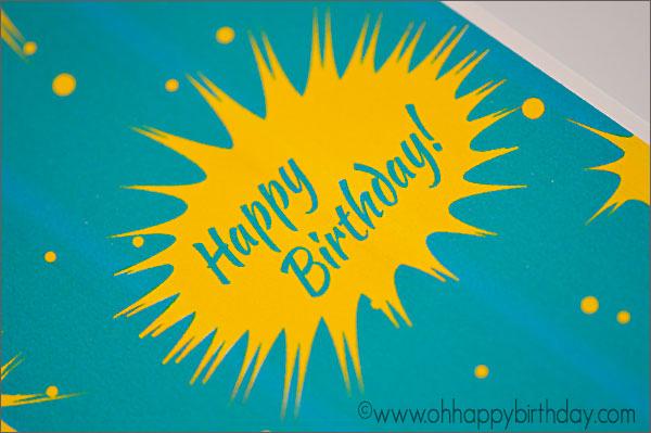 Birthday Card for Energetic Boy
