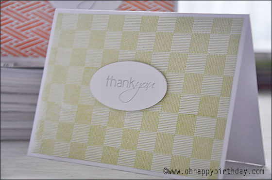 thank you cards 2/Green Thank You Card